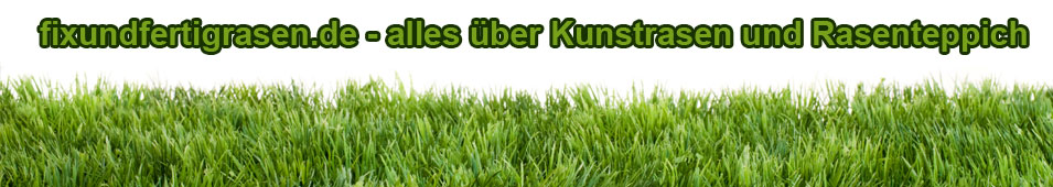 Kunstrasen und Rasenteppich